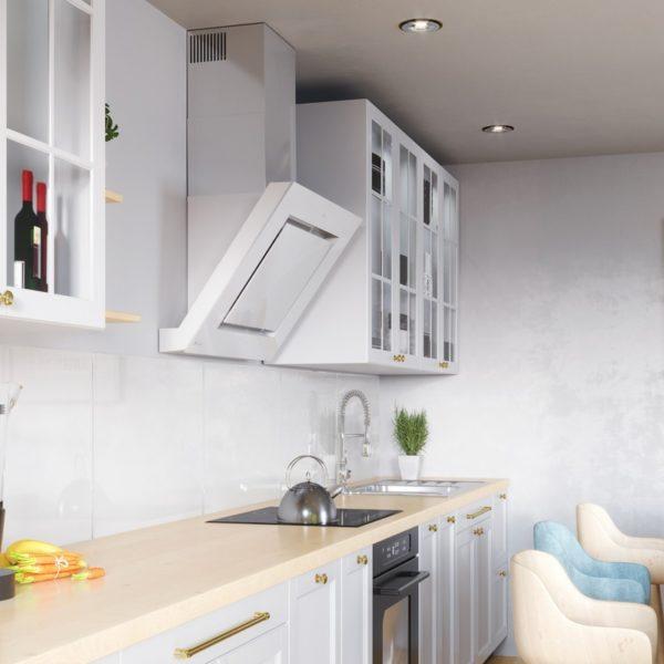Okap kuchenny GLOBALO Lagardio 75.3 White