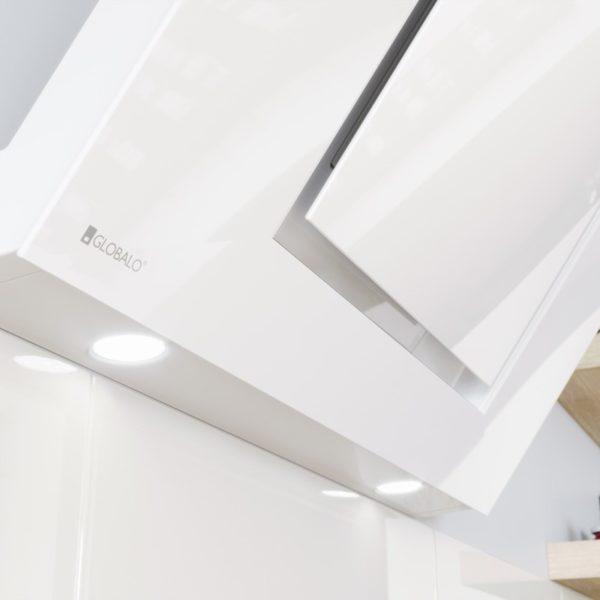 Okap przyścienny Globalo Lagardio 90.2 white