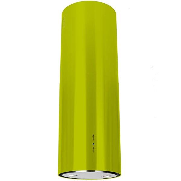 Okap kuchenny GLOBALO Cylindro Isola 39.3 green