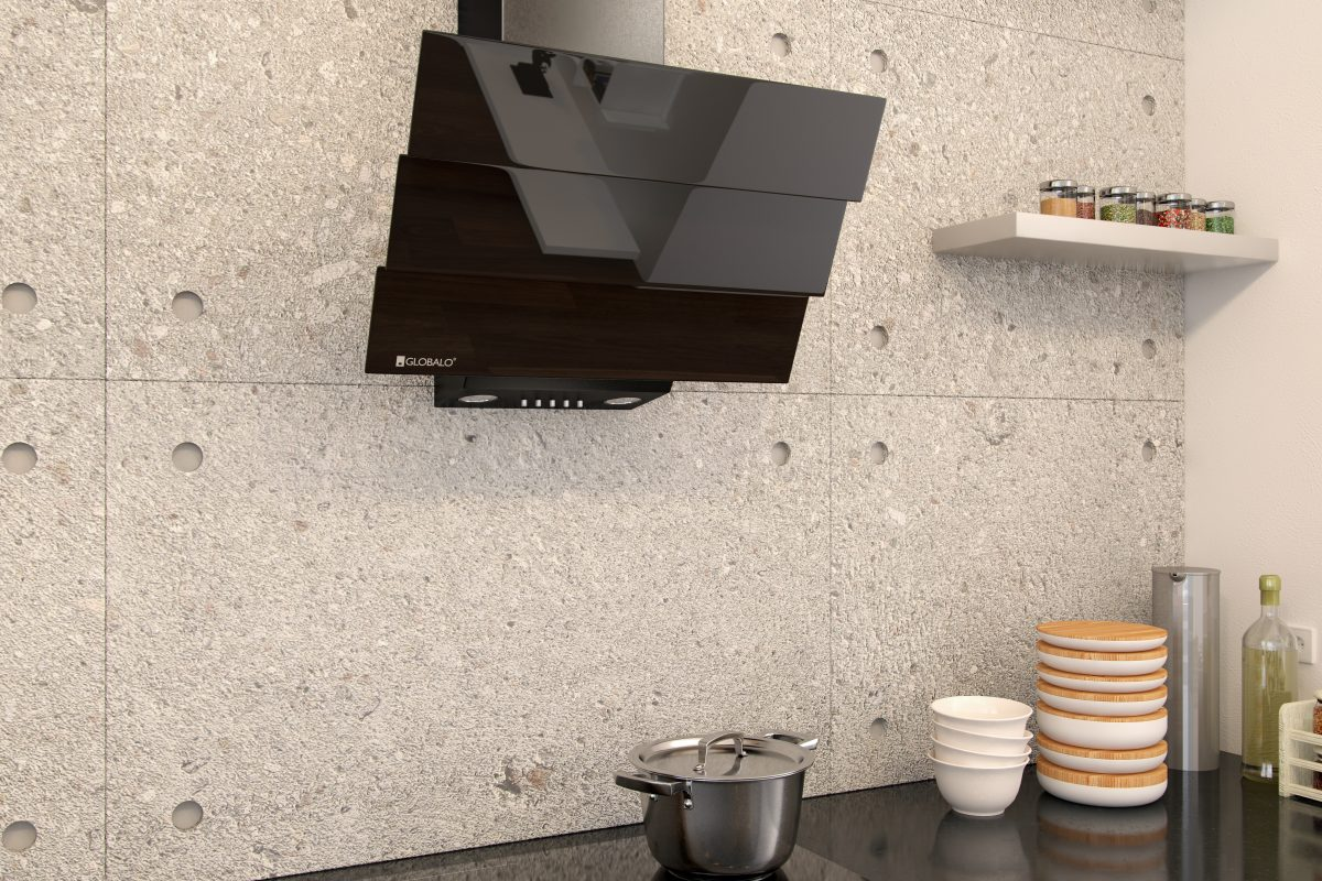 Okap kuchenny GLOBALO Divergo 60.1 Black Eko Max