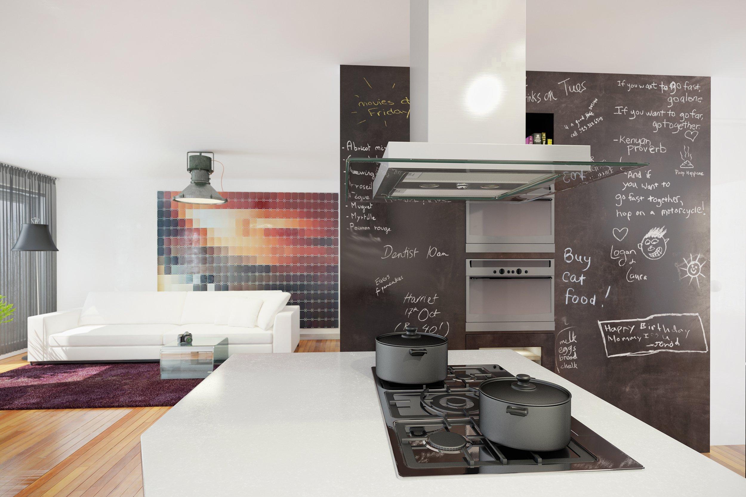 Okap kuchenny GLOBALO Atino Isola Sensor
