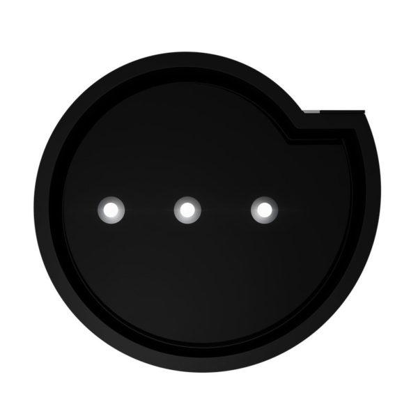 Okap kuchenny GLOBALO Serina 60.3 Black