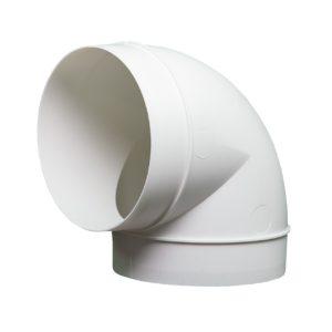 Kolanko okrągłe DOMUS 90° fi 10 cm