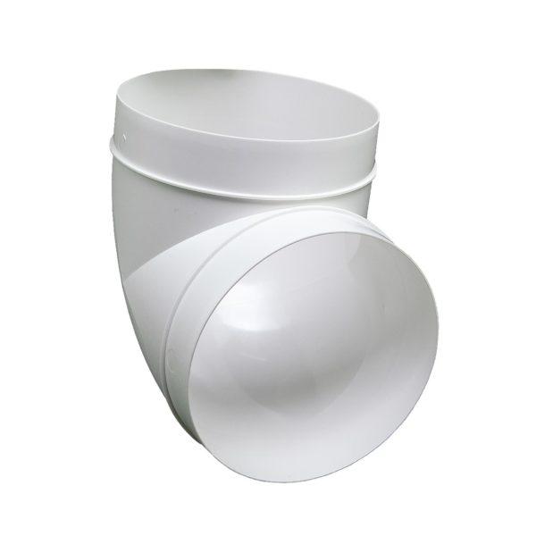 Kolanko okrągłe DOMUS 90° fi 15 cm