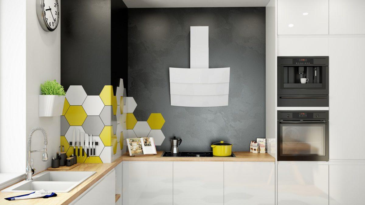 Okap kuchenny GLOBALO Vintio 75.1 White