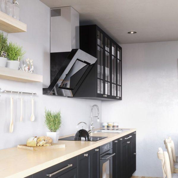 Okap kuchenny GLOBALO Lagardio 75.3 Black