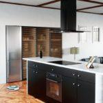 Okap kuchenny GLOBALO Divida Isola 90.4 Sensor Black