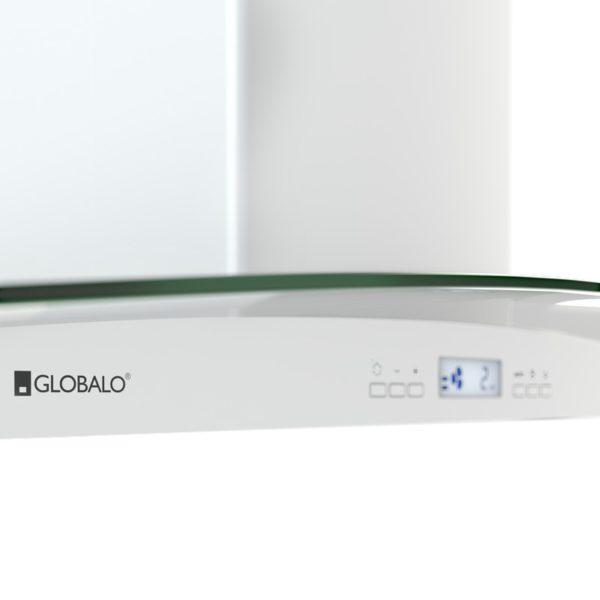 Okap kuchenny GLOBALO Divida Isola 90.4 Sensor White