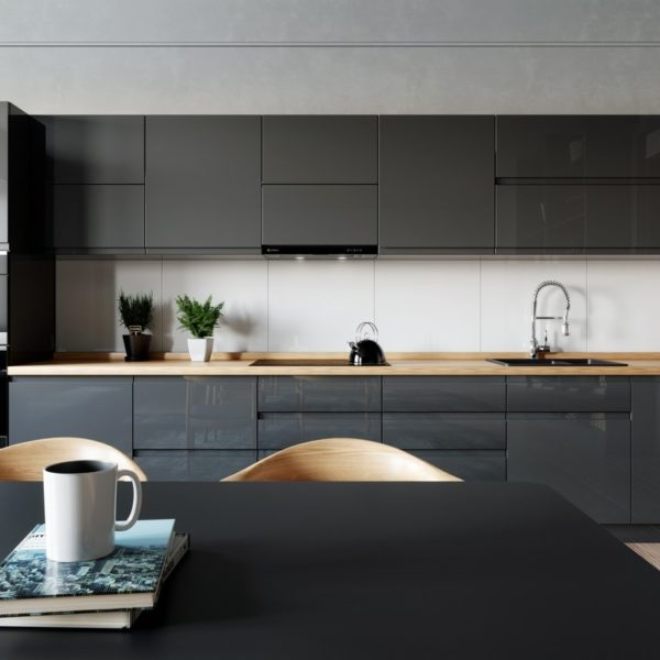Okap kuchenny GLOBALO Perio Touch 60.2 Black