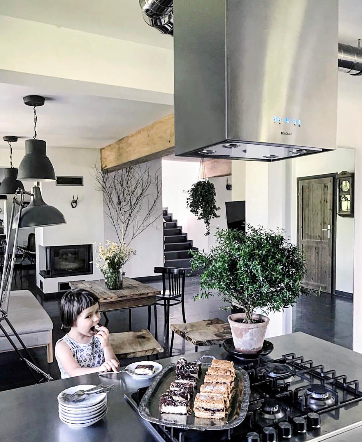 Okap kuchenny GLOBALO Toredo Isola 40.3 Eko Max