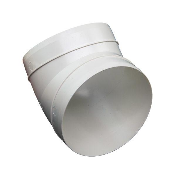 Kolanko okrągłe DOMUS 45° fi 15 cm