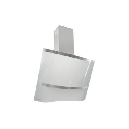 Okap kuchenny GLOBALO przyścienny skośny Altemo 75.2 White eko max