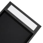 Okap sufitowy GLOBALO Bardot 100 black